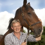 Martin Clunes with horse