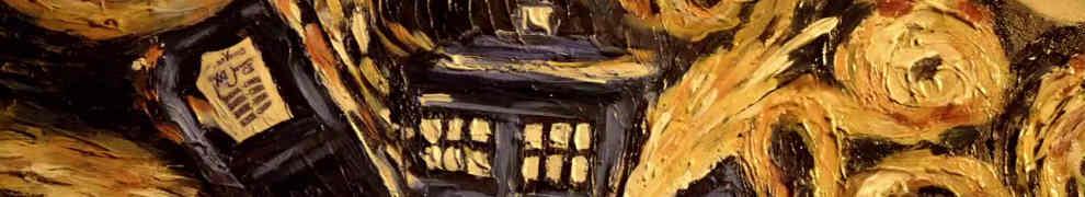 Van Gogh's Exploding Tardis