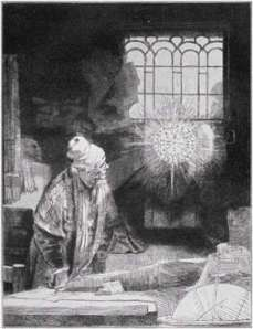 Faust, by Rembrandt