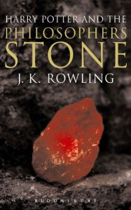 J.K. Rowling's The Philosopher's Stone cover art