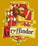 Gryffindor Shield on gold