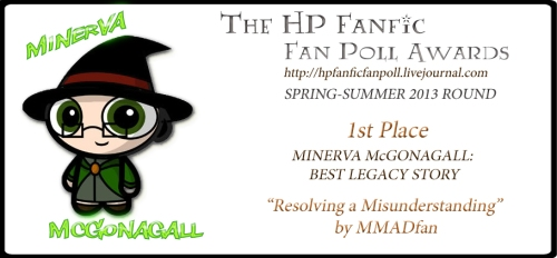 Minerva McGonagall Legacy Fic 1st Place - Resolving a Misunderstanding